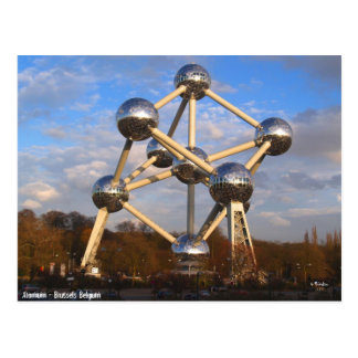 Cartão Postal Atomium