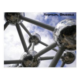 Cartão Postal Atomium, Bruxelas