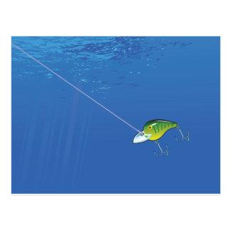 Cartão Postal Atração subaquática