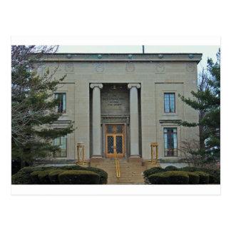Cartão Postal Auditório da Faculdade-Morley do Lago Erie mim