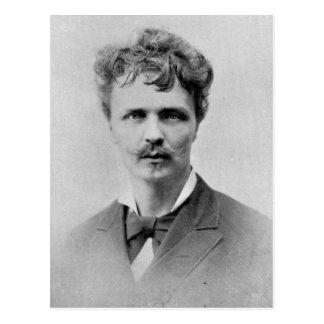 Cartão Postal August Strindberg, o 1º de janeiro de 1884