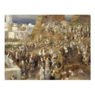 Cartão Postal Auguste Renoir - a mesquita