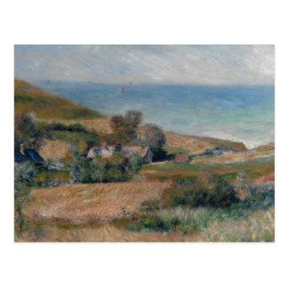 Cartão Postal Auguste Renoir - vista do Seacoast