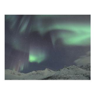 Cartão Postal Aurora boreal 3