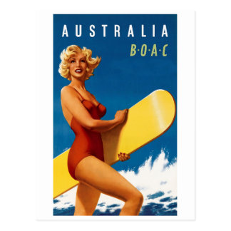 Cartão Postal Austrália - BOAC