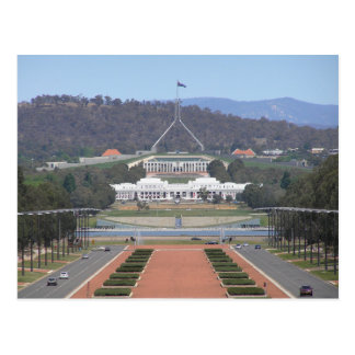 Cartão Postal Australia - Canberra - Old & New Parliament House