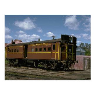 Cartão Postal Austrália, carro de motor do gás do relé de NSW