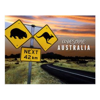 Cartão Postal Austrália impressionante