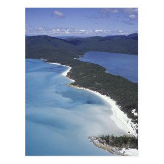 Cartão Postal Austrália, o Whitsundys, Queensland. Monte