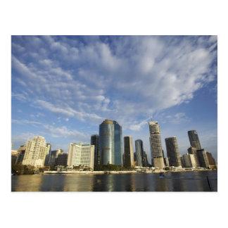 Cartão Postal Austrália, Queensland, Brisbane, arranha-céus e