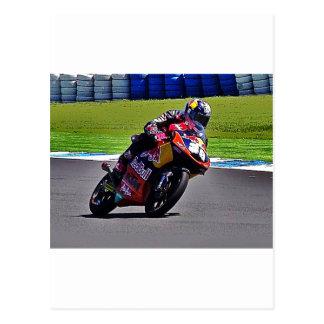 Cartão Postal Australiano Moto Prix grande