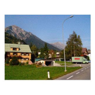 Cartão Postal Áustria, entrada ocupada da vila