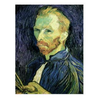 Cartão Postal Auto-Retrato, belas artes de Vincent van Gogh