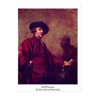 Cartão Postal Auto-Retrato pelo senhor Joshua Reynolds