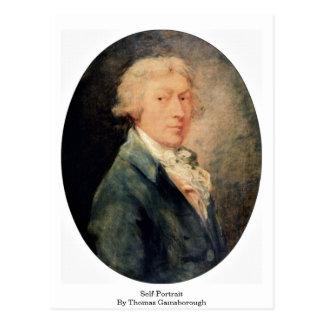 Cartão Postal Auto-Retrato por Thomas Gainsborough