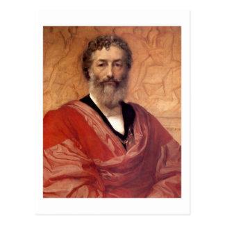 Cartão Postal Auto-retrato - senhor Frederick Leighton