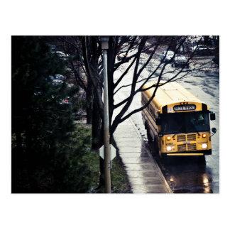 Cartão Postal Autocarro escolar