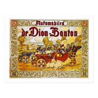 Cartão Postal Automóveis de Dion-Bouton