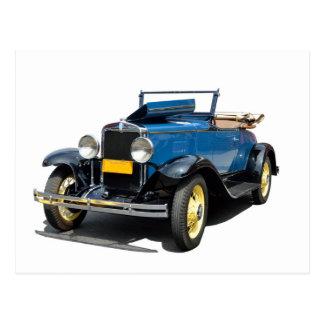 Cartão Postal Automóvel 1930 do Convertible de Chevy do vintage