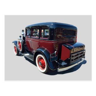 Cartão Postal Automóvel 1932 do vintage