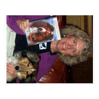 Cartão Postal Autor de Bobbie Pyron da casa da maneira de um cão