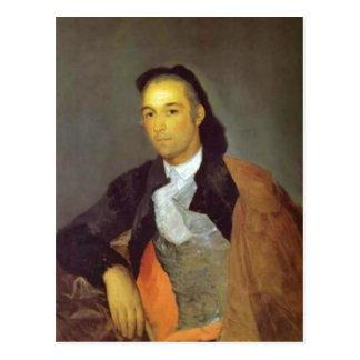 Cartão Postal Autor sumário: Francisco de Goya expirou implemen