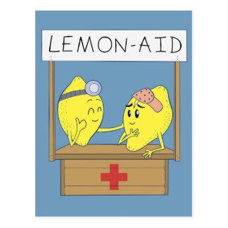Cartão Postal Auxílio do limão
