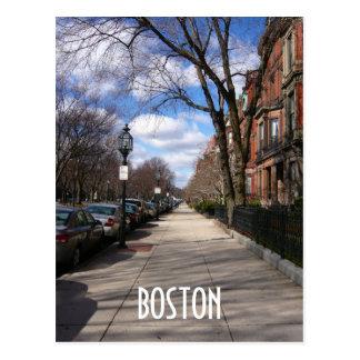 Cartão Postal Avenida da comunidade
