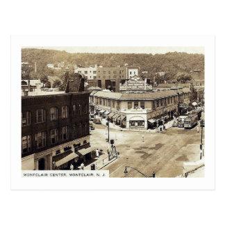 Cartão Postal Avenida de Bloomfield., Montclair, vintage de