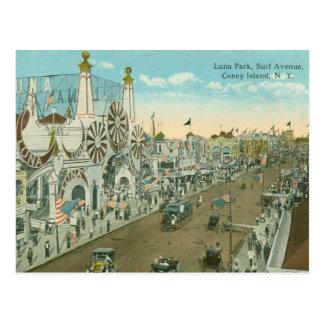 Cartão Postal Avenida do surf de Luna Park