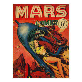 Cartão Postal Aventura em Marte