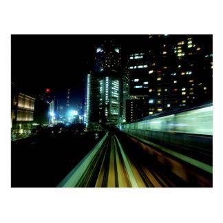 Cartão Postal Aventuras de alta velocidade