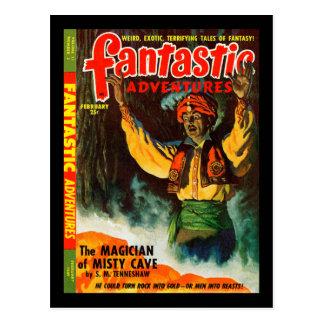 Cartão Postal Aventuras fantásticas v11 n02 (1949-02.Ziff-Davis)