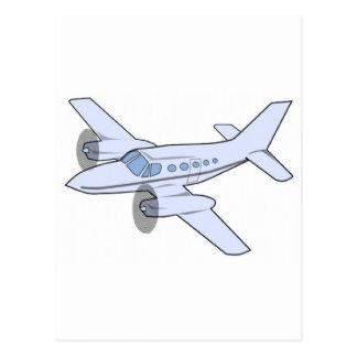 Cartão Postal Avião