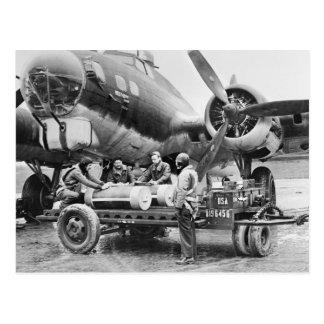 Cartão Postal Avião WW2 e grupo: os anos 40
