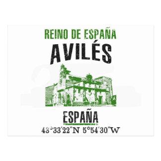 Cartão Postal Avilés