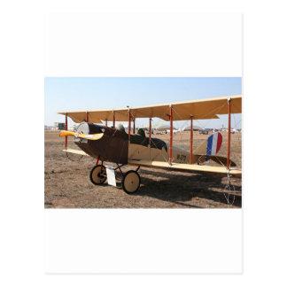 Cartão Postal Aviões do biplano de Curtiss Jenny