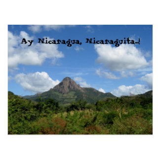 Cartão Postal Ay Nicarágua, Nicaraguita…!