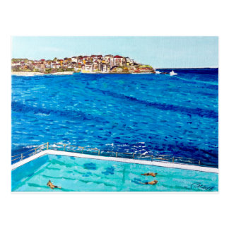 Cartão Postal Azuis de Bondi