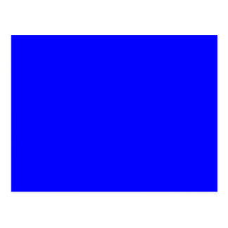 Cartão Postal Azul
