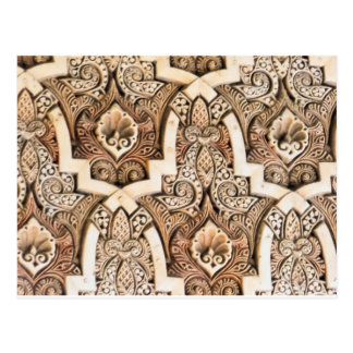 Cartão Postal Azulejo #7 da parede de Alhambra