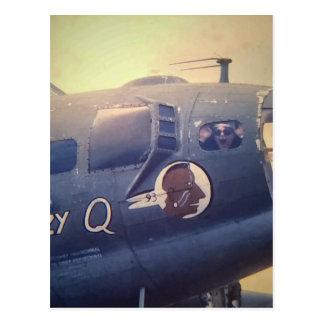 Cartão Postal B17 bombardeiro Suzy Q