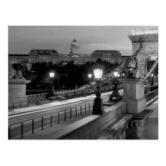 Cartão Postal B&W Budapest