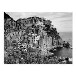 Cartão Postal B&W Cinque Terre