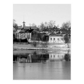 Cartão Postal B&W Oulu 3