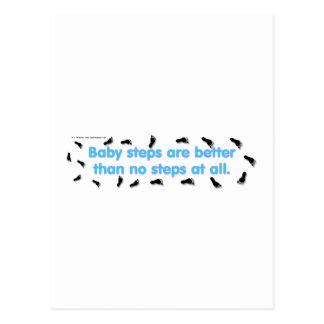 Cartão Postal BabySteps
