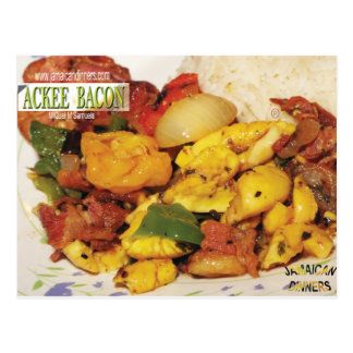 Cartão Postal Bacon do Ackee