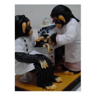 Cartão Postal Bacteriologist
