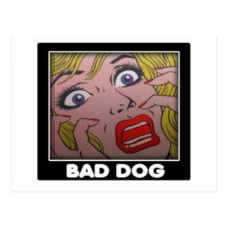 Cartão Postal BAD dog 2