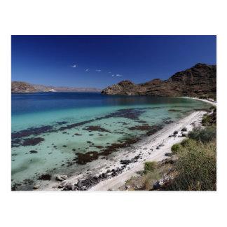 Cartão Postal Baía da concepção de Baja